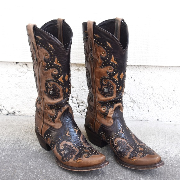 057bdf5af20 Lucchese 1883 studded Fiona women's cowboy boots
